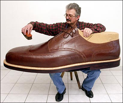 Biggest Shoe Size In The World