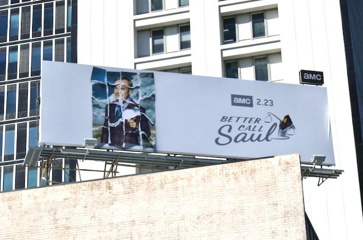 Better Call Saul season 5 billboard