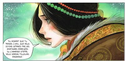 Le sixième Dalaï-Lama - tome 3 - Makye Ame est devenue une jolie jeune femme
