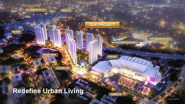 Sky House BSD+ The Singapore Living in BSD