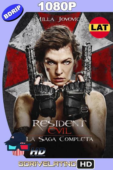 Resident Evil (2002-2017) Saga Completa BDRip 1080p Latino-Ingles MKV