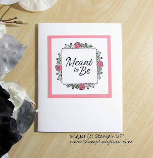 Card made with Stampin'UP!'s Meant to Be stamp set