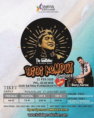 Konser Ambyar Didi Kempot Purwokerto Gor Satria