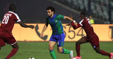 نتيجة مباراة مصر المقاصة وجينيريشن السنغالى اليوم 21/2/2018 المقاصة يودع دوري أبطال أفريقيا