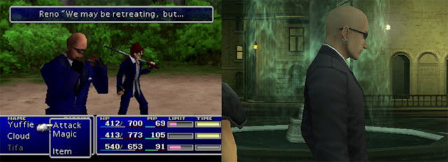 Final Fantasy VII rude