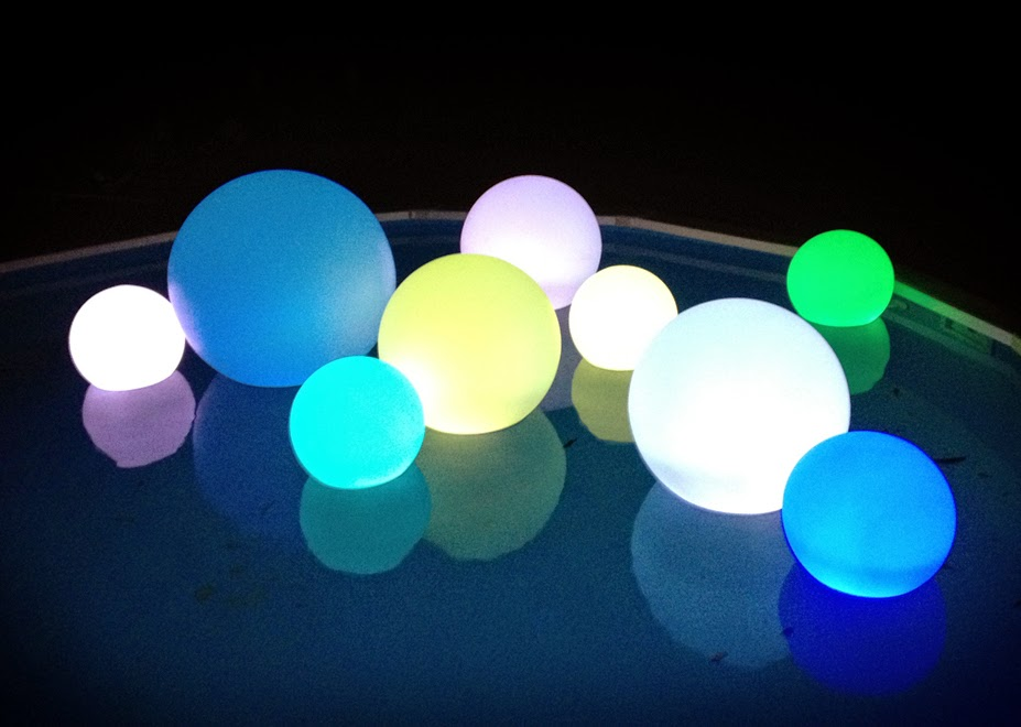 Led light up glow products ball led indoor outdoor lamp for Outdoor christmas balls that light up