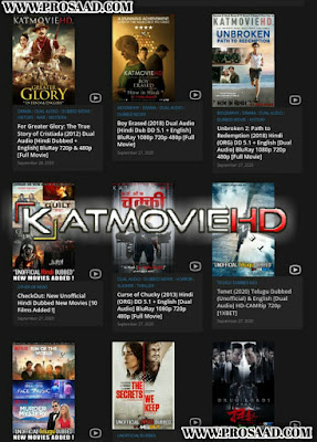 KatMoviehd - Illegal HD Movies Download Website
