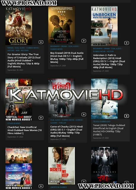KatMoviehd - Illegal HD Movies Download Website