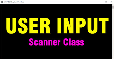 how to take input in java using scanner
