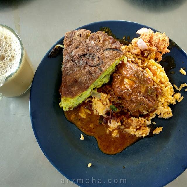 Nasi Kandar, nasi kandar pokok ceri, Nasi kandar di penang, sarapan pagi di penang, makan tengahari di penang,