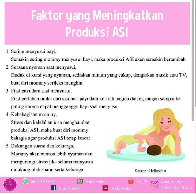 cara meningkatkan produksi ASI
