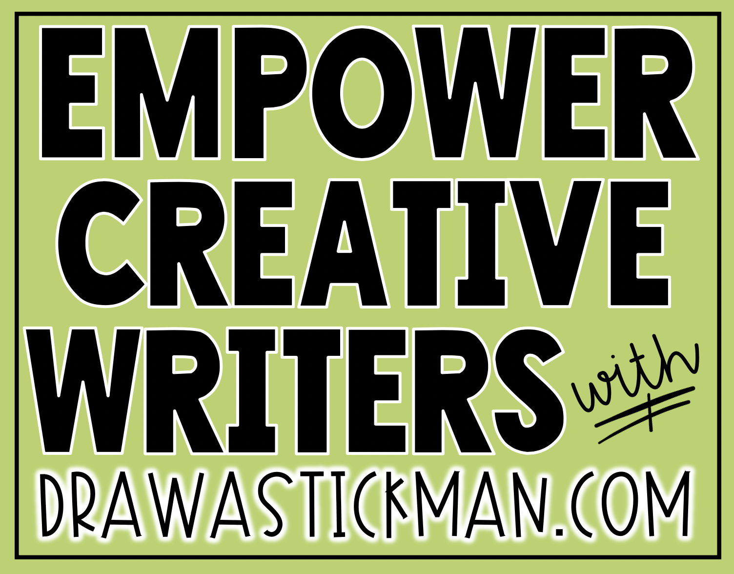 Are you looking for ways to turn your students into CREATIVE writers? Empower students to explore their creativity with the free website, drawastickman.com. They will absolutely love this quick and easy activity!