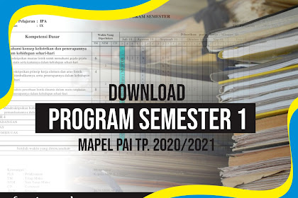 DOWNLOAD PROGRAM SEMESTER 1 PAI 2020/2021