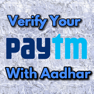 Paytm account verification