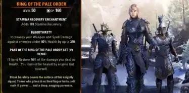 Ring Of The Pale Order.Elder Scrolls Online