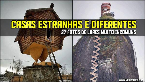 fotos de casas estranhas e diferentes pelo mundo
