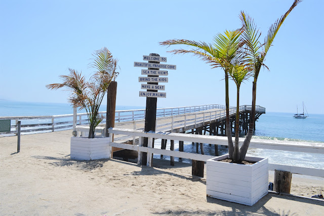 Paradise Cove visit the best beach cafe in Malibu #malibu #paradisecove #CA #beachcafe
