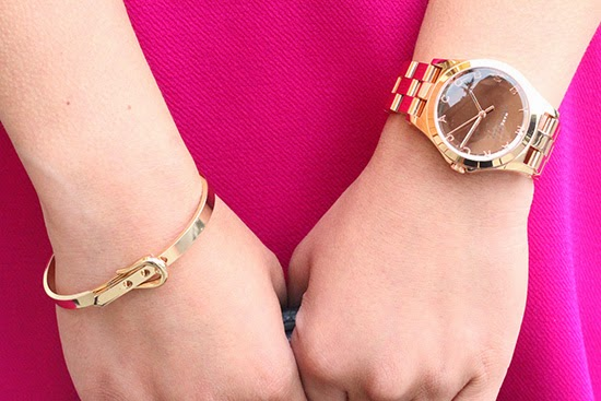 Marc Jacobs Watch and Buckle Bracelet | Will Bake for Shoes
