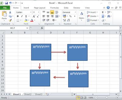 Cara Membuat Flowchart di Excel Lengkap