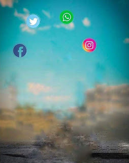 Insta Viral Social Media CB Background Free Stock Photo