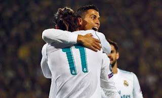 Ronaldo Dua Gol, Madrid Kalahkan Borussia Dortmund 3-1