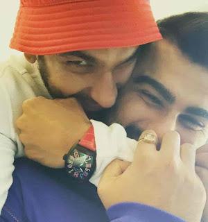 Ranveer Singh With Arjun Kapoor