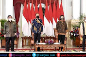 Presiden Jokowi Resmi Membuka Acara Sarasehan 100 Ekonomi Indonesia