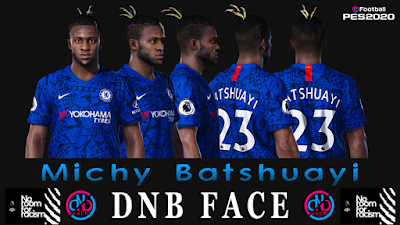 PES 2020 Faces Michy Batshuayi by DNB