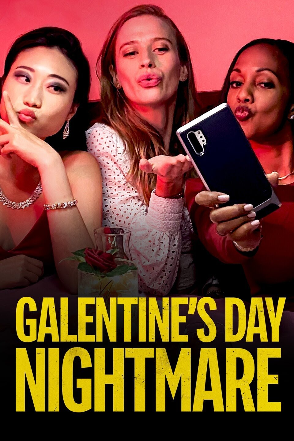 Galentine's Day Nightmare 2021 Canada Roxanne Boisvert Camille Stopps Anthony Grant Tina Jung  Thriller
