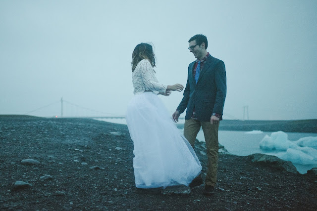 first, look, Iceland, wedding, elope