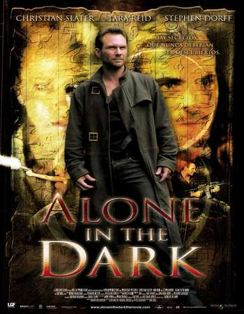 Poster Of Alone in the Dark 2005 Hindi Dual Audio 170MB UNRATED BRRip HEVC Mobile ESubs Free Download Watch Online downloadhub.net