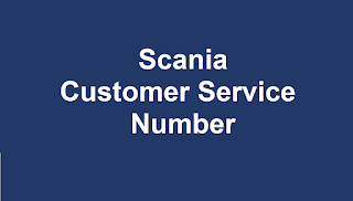 Scania  Customer Service Number