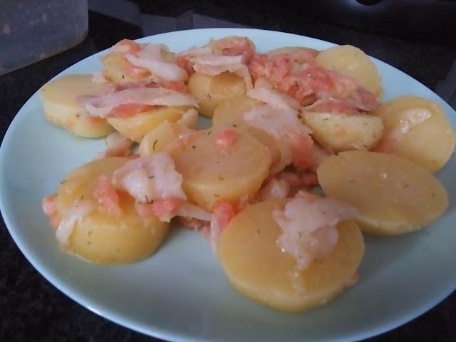 Ensalada De Patata Nueva Con Ahumados