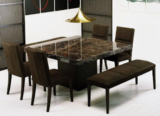 interior decor home modern minimalist with Stone marble