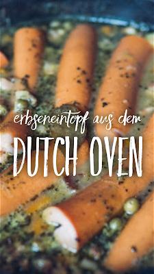 Outdoor Kitchen 10 | Erbseneintopf aus dem Dutch Oven | Herzhafte Rezepte für Camping und Trekking