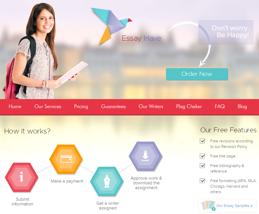 EssayHave.com – Guarantees and Quality