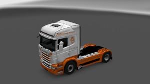 Scania RJL A2B Truck Rental Skins
