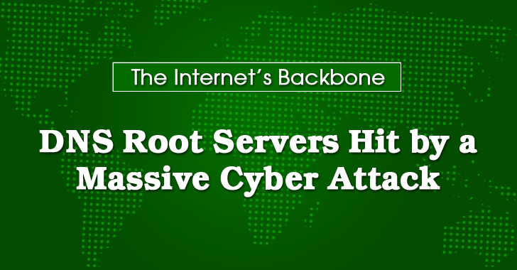 Someone Just Tried to Take Down Internet's Backbone with 5 Million Queries/Sec