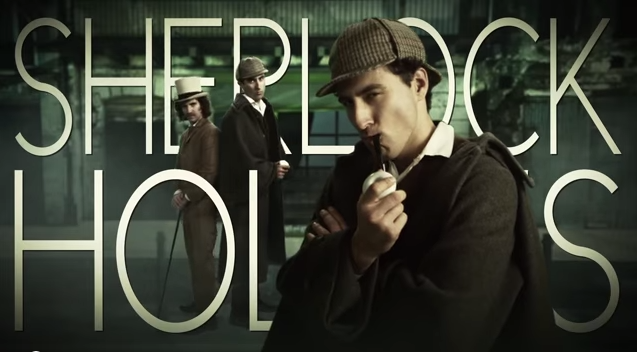 Watch Holmes and Watson put some words to music