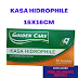 Kasa Hidrophile 16 x 16cm