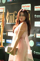 Nidhi Subbaiah Glamorous Pics in Transparent Peachy Gown at IIFA Utsavam Awards 2017  HD Exclusive Pics 54.JPG