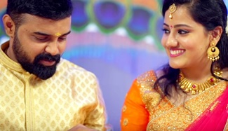 Kerala Best Hindu Engagement Highlight Shilpa & Deepak 2018