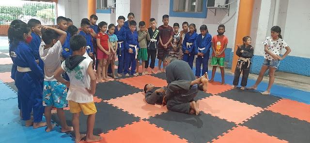 Projeto social de jiu-jitsu proporciona inclusão e melhor condição de vida a crianças, e jovens em Faro