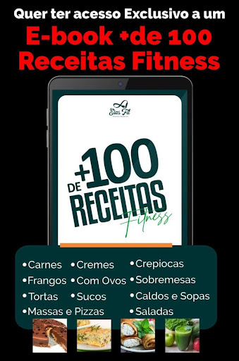 + DE 100 RECEITAS FITNESS