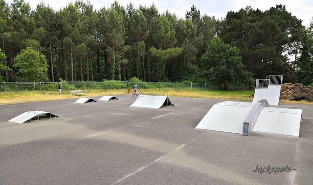 skatepark Mimizan modules