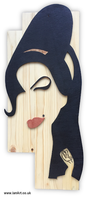 Amy-Winehouse-Bespoke-Wooden-Wall-Art-recycled-reclaimed-wood-handmade-by-IanArt