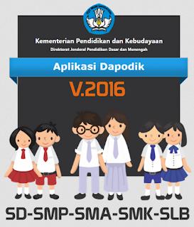 Persiapan Aplikasi Dapodikdasmen 2016 Terbaru