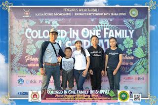 COLORED IN ONE FAMILY INI & IPPAT PENINSULA NUSA DUA 29092019