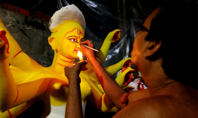Durga Idol Making Kumartuli
