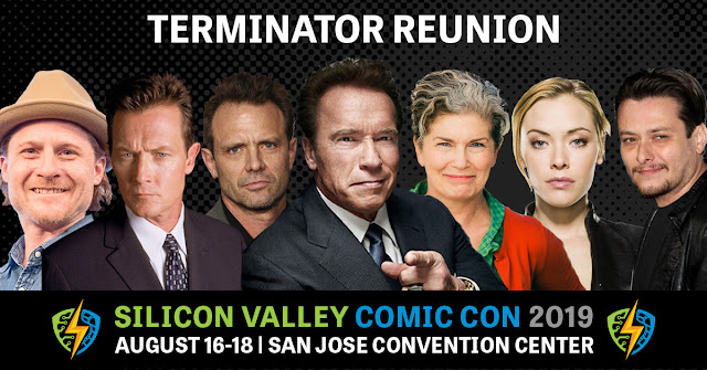 Terminator Reunion at Silicon Valley Comic Con 2019 at the San Jose Convention Center